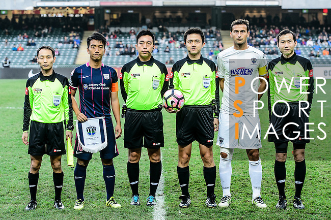 Nike Lunar New Year Cup 2017 match between SC Kitchee (HKG) and Auckland City FC (NZL) on January 31, 2017 in Hong Kong, Hong Kong. (Photo by Power Sport Images/Getty Images)