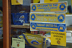 Aldershot Town 0 Torquay United 3, 15/08/2007. Plainmoor, Football Conference. Torquay's first game in the Blue Square Premier. A 330 mile round trip to Aldershot Town's Recreation Ground. At Plainmoor, the merchandise strikes an upbeat note despite relegation from the League.