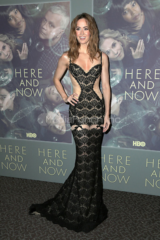 LOS ANGELES, CA - FEBRUARY 05: Erin Carufel at the Here And Now Los Angeles Premiere at the  DGA Lot on February 5, 2018 in Los Angeles, California. Credit: David Edwards/MediaPunch