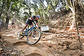 9th September 2017, Smithfield Forest, Cairns, Australia; UCI Mountain Bike World Championships; Jordan Sarrou (FRA) riding for BH-Srsuntour-KMC during the elite mens cross country race;