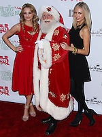 HOLLYWOOD, CA - DECEMBER 01: Hunter King, Melissa Ordway arriving at the 82nd Annual Hollywood Christmas Parade held at Hollywood Boulevard on December 1, 2013 in Hollywood, California. (Photo by Xavier Collin/Celebrity Monitor)