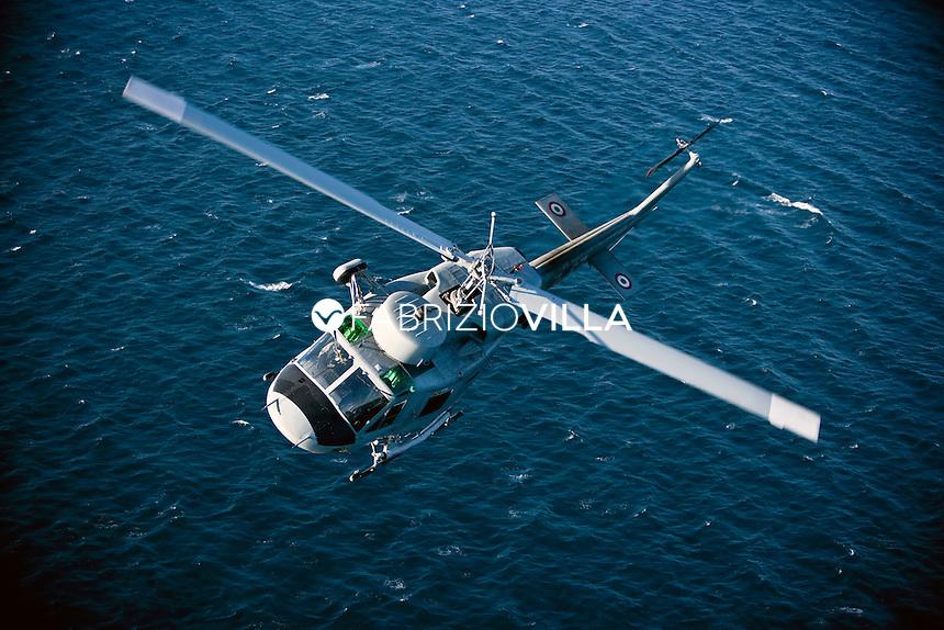 Marina Militare. Elicottero AB 212