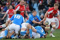 Fabio Semenzato (Italia) <br /> Italia vs Galles<br /> RBS 6 Nations Rugby Championship 2011<br /> Stadio Flaminio;<br /> Roma, 26/02/2011<br /> Photo Antonietta Baldassarre Insidefoto