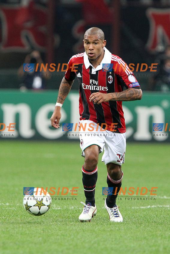 "Nigel De Jong Milan.Milano 18/09/2012 Stadio ""S.Siro"".Football Calcio Champions League 2012/13.AC Milan v Anderlecht.Foto Insidefoto Paolo Nucci."