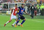 Por la última fecha del Apertura 2015, Millonarios sorprendió a Independiente Santa Fe y lo venció 3 - 1 en el Nemesio Camacho El Campín, dejándolo sin opción de cara a la fase final del torneo.