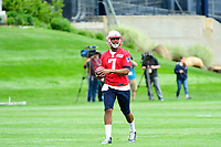 June 7, 2017: New England Patriots quarterback Jacoby Brissett (7) takes part at the New England Patriots mini camp held on the practice field at Gillette Stadium, in Foxborough, Massachusetts. Eric Canha/CSM