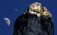 20080808 -- .Michael McCollum.Moon, Jet, Monolith in spectacular Yosemite National Park. No photoshop.