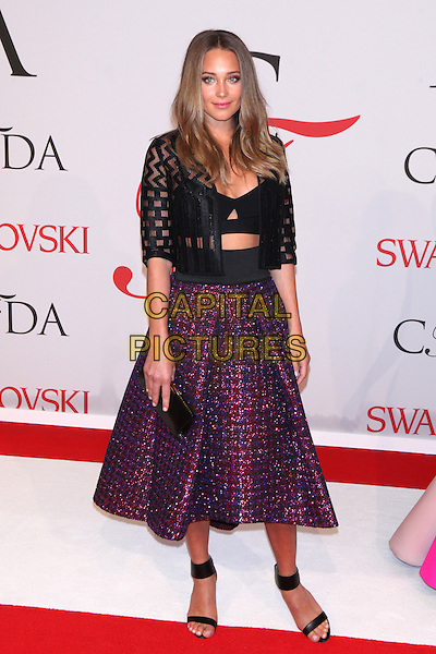NEW YORK, NY - JUNE 1: Hannah Davis at the 2015 CFDA Fashion Awards at Alice Tully Hall, Lincoln Center in New York City on June 1, 2015. <br /> CAP/MPI/COR99<br /> &copy;COR99/MPI/Capital Pictures