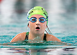Cottonwood's Julia Hibbard competes in the 100 yard IM race during the 53rd annual Country Club Swimming Championships on Monday, Aug. 6, 2012, in Kearns, Utah. (© 2012 Douglas C. Pizac)