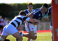 Action from the Transit Coachlines 1st XV Festival rugby union match between St Patricks College and Palmerston North Boys' High School at Memorial Park in Masterton, New Zealand on Saturday, 6 May 2017. Photo: Dave Lintott / lintottphoto.co.nz