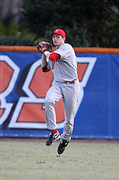 March 9, 2010:  Outfielder Jordan Parr of the Illinois State Redbirds during a game at McKethan Stadium in Gainesville, FL.  Photo By Mike Janes/Four Seam Images