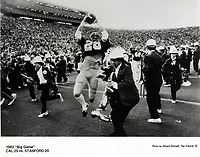 California Bears beat the Stanford in the Big Game..on last seconds.<br /> (photo by Bob Stinnett)