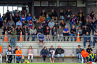 Fans watch the Heartland championship rugby match between Horowhenua Kapiti and East Coast at Otaki Domain in Otaki, New Zealand on Saturday, 23 September 2017. Photo: Dave Lintott / lintottphoto.co.nz