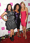 Jennifer Tilly, Vivica A. Fox and Brandi Glanville arriving at Vivica A. Fox's Fabulous 50th Birthday Celebration held at the Philippe Chow Beverly Hills, Ca. August 2, 2014.