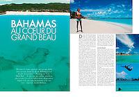 "PUBLISHED WORK : ELLE Oriental magazine : ""Voyage Bahamas"" -  Pictures + Article Writing"