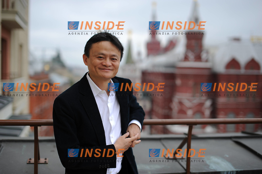 MOSCOW, Jack Ma Yun, founder and chairman of Chinas e-commerce giant Alibaba, poses for a photo in Moscow, Russia, June 21, 2015. <br /> Foto Dai Tianfang/Imago/Insidefoto