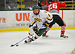 19 January 2008: University of Vermont Catamounts' forward Dean Strong, a Junior from Mississauga, Ontario, in action against the Northeastern University Huskies at Gutterson Fieldhouse in Burlington, Vermont. The Catamounts defeated the Huskies 5-2 to close out their 2-game weekend series...Mandatory Photo Credit: Ed Wolfstein Photo