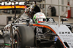 22.02.2016 Circuit Barcelona-Catalunya, Barcelona, Spain. Formula 1 test days. Picture show Alfonso Celis driving VJM09 Force India