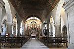 Igreja de Santa Maria Church, Cidadela, Braganca, Tras os Montes Oriental, Portugal