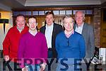 The experts at the Cheltenham preview night in the Dromhall Hotel Killarney on Friday night l-r: Paddy Wilmott, Jim Culloty, Vince Casey, Brendan Tyter and Andrew McNamara