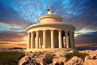 Fanari lighthouse or Agion Theodoron lighthouse, Kefalonia, Ionian Islands, Greece.