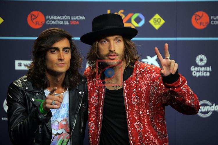 Los 40 MUSIC Awards 2016 - Photocall.<br /> Marlon.