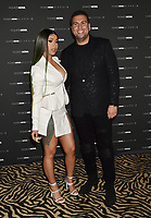 LOS ANGELES, CA - MAY 08: Cardi B (L) and CEO of FashionNova Richard Saghian attend the Fashion Nova x Cardi B Collection Launch Party at Hollywood Palladium on May 08, 2019 in Los Angeles, California.<br /> CAP/ROT/TM<br /> ©TM/ROT/Capital Pictures