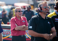 Sep 29, 2019; Madison, IL, USA; NHRA team owner Don Schumacher during the Midwest Nationals at World Wide Technology Raceway. Mandatory Credit: Mark J. Rebilas-USA TODAY Sports
