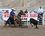 Marty Yates, Cody PRCA rodeo, 7/1 slack. Photo by Andy Watson. All Photos (C) Watson Rodeo Photos, INC. Any use must have written Permission.