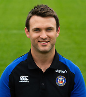 Damien Kelly of Bath Rugby poses for a portrait. Bath Rugby Media Day on August 14, 2018 at Farleigh House in Bath, England. Photo by: Patrick Khachfe / Onside Images