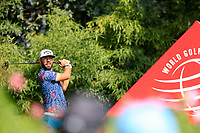 Erik Van Rooyen (RSA) on the 2nd tee during the 3rd round of the WGC HSBC Champions, Sheshan Golf Club, Shanghai, China. 02/11/2019.<br /> Picture Fran Caffrey / Golffile.ie<br /> <br /> All photo usage must carry mandatory copyright credit (© Golffile | Fran Caffrey)