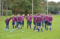 England C Training Camp Day One at Lilleshall National Sports Centre on 8th October 2017
