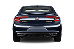 Straight rear view of 2017 Buick LaCrosse Essence 4 Door Sedan Rear View  stock images