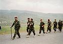 Iraq 2009<br /> Manoeuvres with Colonel Serhat Anwar Beg  <br /> Irak 2009 <br /> Manoeuvres avec a la tete de la colonne, le colonel Serhat Anwar Beg