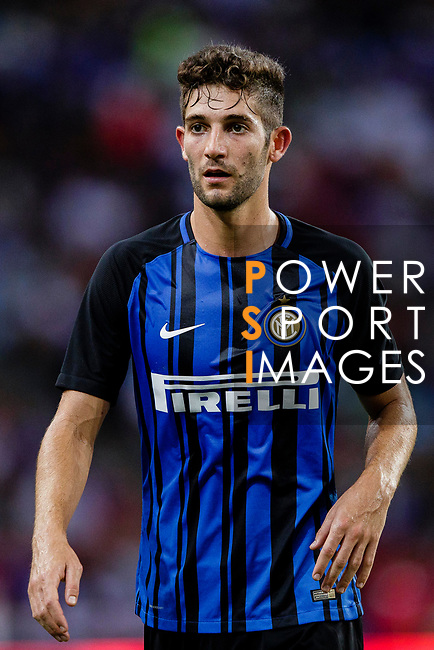 FC Internazionale Midfielder Roberto Gagliardini in action during the International Champions Cup 2017 match between FC Internazionale and Chelsea FC on July 29, 2017 in Singapore. Photo by Marcio Rodrigo Machado / Power Sport Images