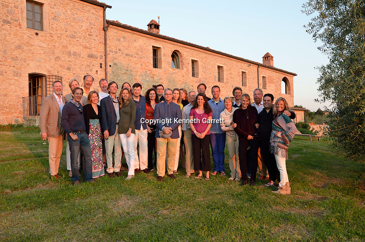 Mark Ohrstrom 50 birthday Bash, Tuscany, Italy