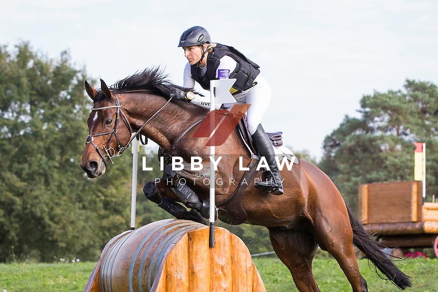 GER-Ingrid Klimke (HORSEWARE HALE BOB) INTERIM-1ST: CCI4* CROSS COUNTRY: 2014 FRA-Les Etoiles de Pau (Saturday 25 October) CREDIT: Libby Law COPYRIGHT: LIBBY LAW PHOTOGRAPHY - NZL