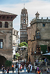 Poble Espanyol complex in Barcelona, Spain.<br />