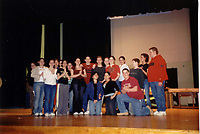 Sound of Music Spring 2003 backstage pics