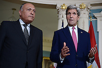 Kerry and Egyptian FM Shoukry