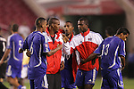 11 March 2008: Cuba players celebrate the draw, postgame. The United States U-23 Men's National Team tied the Cuba U-23 Men's National Team 1-1 at Raymond James Stadium in Tampa, FL in a Group A game during the 2008 CONCACAF's Men's Olympic Qualifying Tournament.