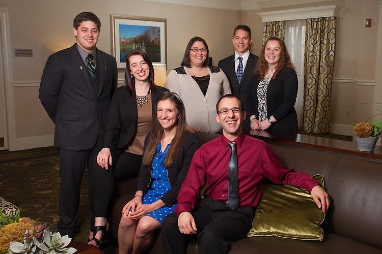 Senior Cutler Scholars at Ohio Univeristy. Photo by Ohio University / Jonathan Adams