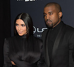WASHINGTON, DC - JANUARY 24: TV personality Kim Kardashian and rapper Kanye West attend The BET Honors at the Warner Theatre on January 24, 2015 in Washington, D.C. Photo Credit: Morris Melvin / Retna Ltd.