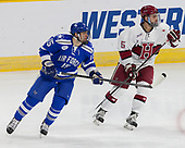 Evan Giesler (AFA - 15), Clay Anderson (Harvard - 5) - The Harvard University Crimson defeated the Air Force Academy Falcons 3-2 in the NCAA East Regional final on Saturday, March 25, 2017, at the Dunkin' Donuts Center in Providence, Rhode Island.