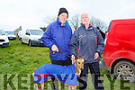 At  Ballyduff Coursing on Sunday were Michael Casey and Kathleen Casey O'Connell with spanish steps