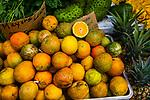 PAHOA, HI - Oranges at the Maku'u Farmer's Market
