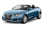 Front three quarter view of a 2003 - 2012 Audi A3 Attraction 2-Door Convertible.