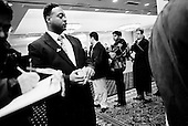 New York, New York<br /> February 24, 2010<br /> <br /> People seeking work at NYCHires Job Fair at the Radisson Martinique On Broadway Hotel to meet professionals from more than 30 employers.<br /> <br /> The United States shed 36,000 jobs in February and the unemployment rate held at 9.7 percent.<br /> <br /> The Senate passed a modest jobs creation bill to lay the groundwork for a larger package that would advance Democrats goal of bringing down the stubbornly high U.S. unemployment rate.