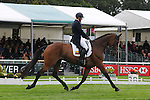 Nicolas Wettstein riding Nadeville Merze during the dressage phase of the 2012 Land Rover Burghley Horse Trials in Stamford, Lincolnshire