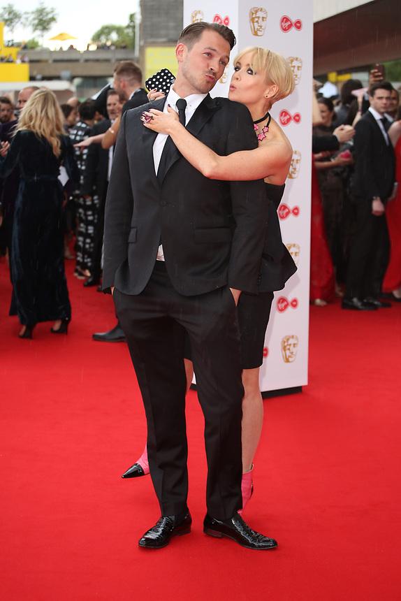 Ashley Taylor Dawson & Lysette Anthony<br />  arriving at the Bafta Tv awards 2017. Royal Festival Hall,London  <br /> ©Ash Knotek